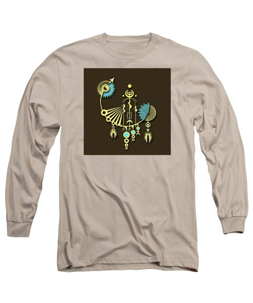 Tock Long Sleeve T-Shirt by Deborah Smith