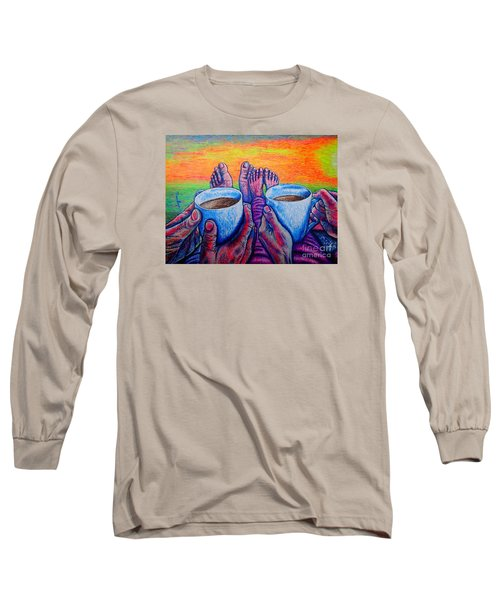 Together Long Sleeve T-Shirt by Viktor Lazarev