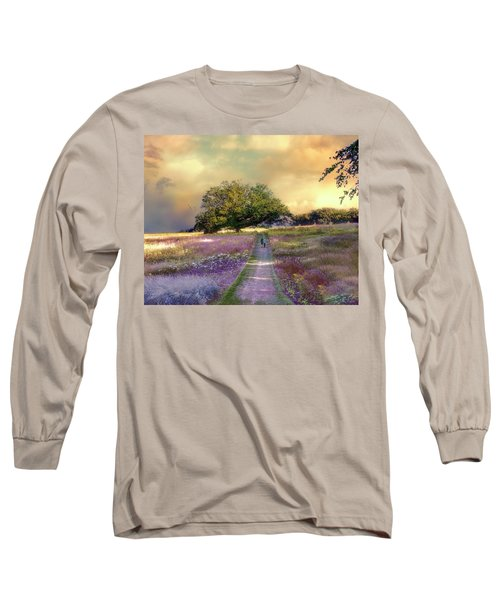 Together We Can Weather The Storms Long Sleeve T-Shirt by John Rivera