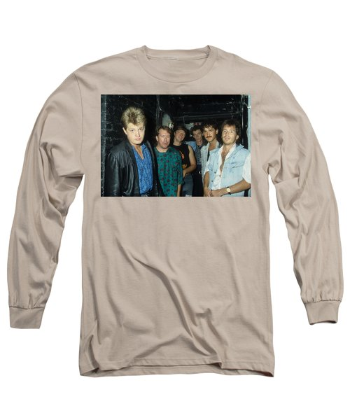 Tom Cochrane And Red Rider Long Sleeve T-Shirt