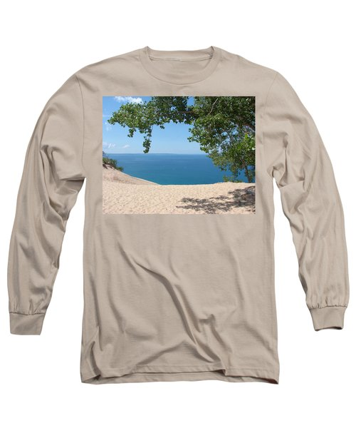 Top Of The Dune At Sleeping Bear Long Sleeve T-Shirt