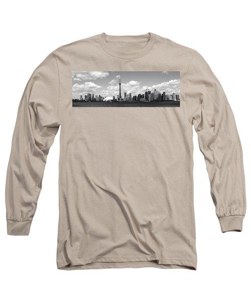 Toronto Skyline 11 Long Sleeve T-Shirt