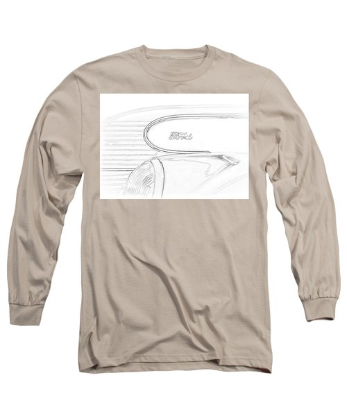 Torpedo Ford Long Sleeve T-Shirt by Jeffrey Jensen