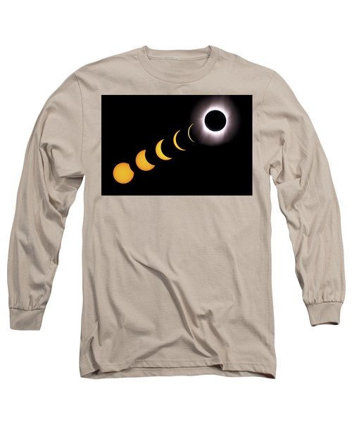 Total Eclipse Sequence, Aruba, 2/28/1998 Long Sleeve T-Shirt