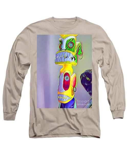 Totemic Mask Long Sleeve T-Shirt