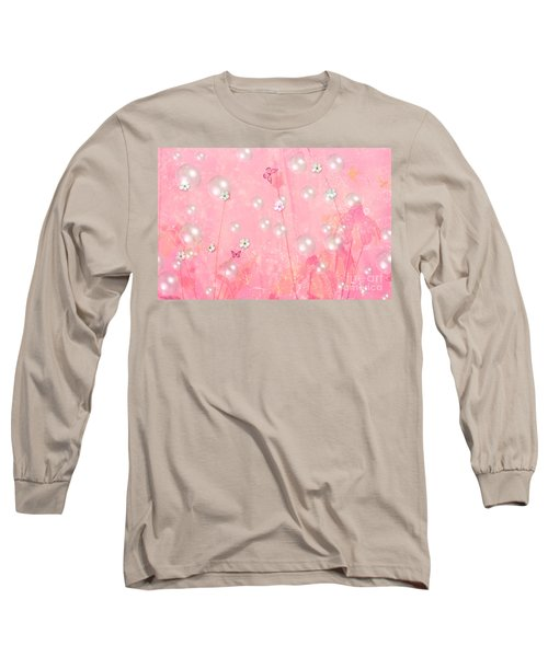 Touch Me In The Morning Long Sleeve T-Shirt by Sherri's Of Palm Springs