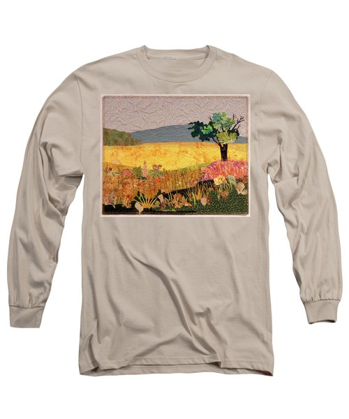 Touch Of Goldenrod Long Sleeve T-Shirt