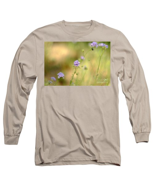 Touch Of Lavender Light Long Sleeve T-Shirt