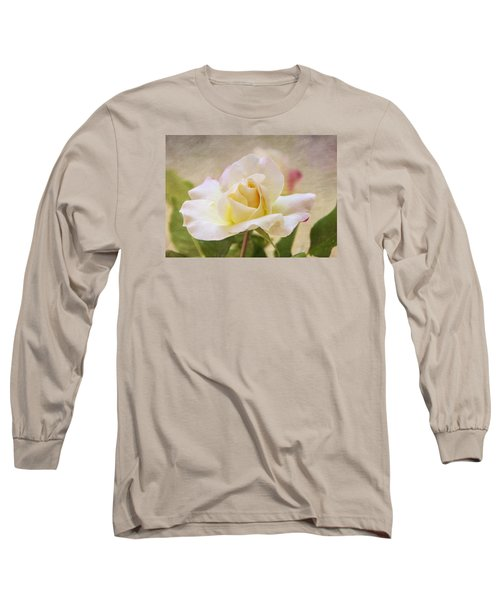 Touch Of Pink Long Sleeve T-Shirt