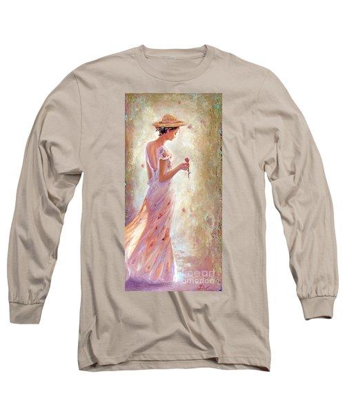 Toujours De Fleurs Long Sleeve T-Shirt by Michael Rock