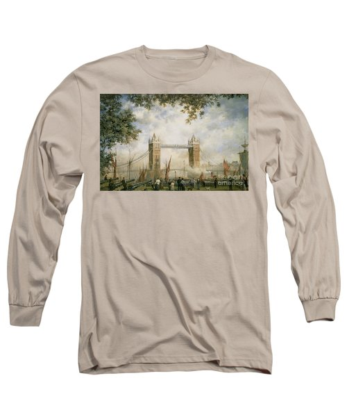 Tower Bridge - From The Tower Of London Long Sleeve T-Shirt