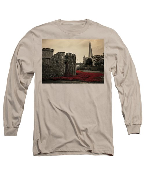 Tower Of London Long Sleeve T-Shirt by Martin Newman