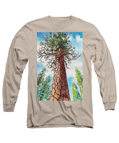 Towering Ponderosa Pine Long Sleeve T-Shirt