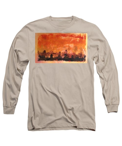 Towers And Tanks Long Sleeve T-Shirt