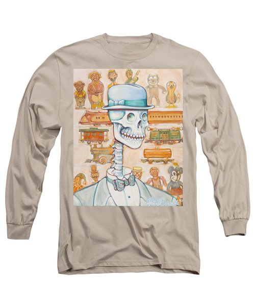Toy Bones Long Sleeve T-Shirt