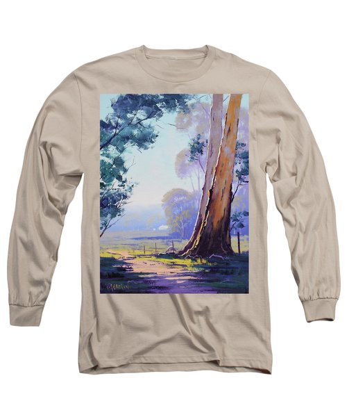 Track To The Farm Long Sleeve T-Shirt