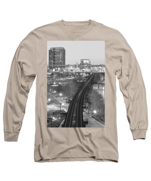 Tracks Into The City Long Sleeve T-Shirt