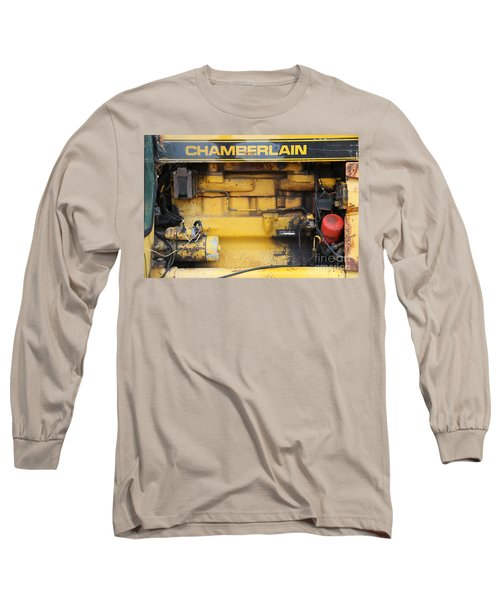Long Sleeve T-Shirt featuring the photograph Tractor Engine Iv by Stephen Mitchell