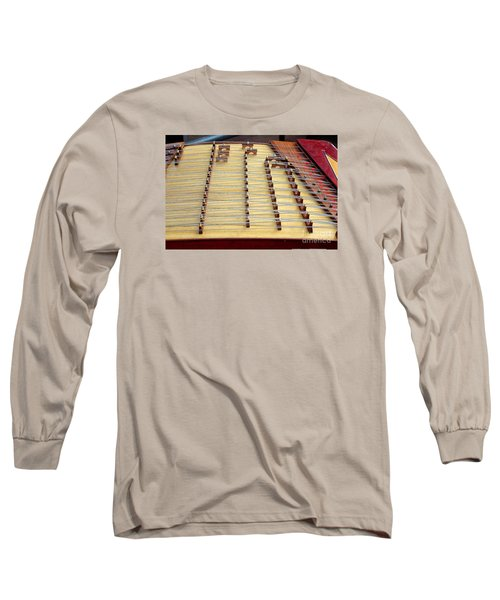 Traditional Chinese Instrument Long Sleeve T-Shirt by Yali Shi