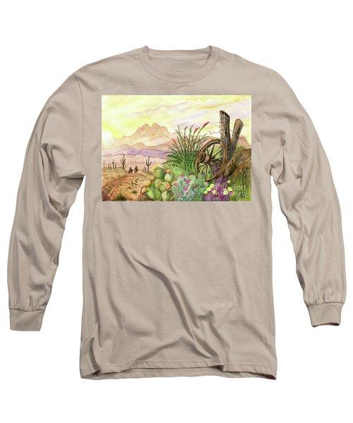 Trail At Sunrise Long Sleeve T-Shirt