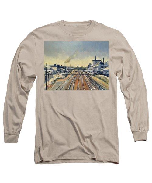 Train Tracks Maastricht Long Sleeve T-Shirt