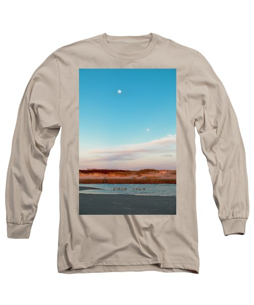 Tranquil Heaven Long Sleeve T-Shirt by Betsy Knapp