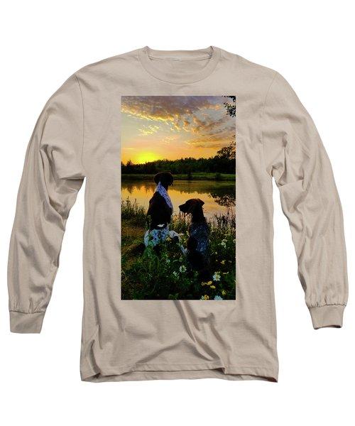 Tranquil Moment Long Sleeve T-Shirt