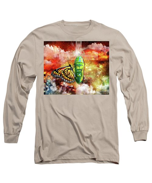 Long Sleeve T-Shirt featuring the digital art Transformed By The Truth by Dolores Develde