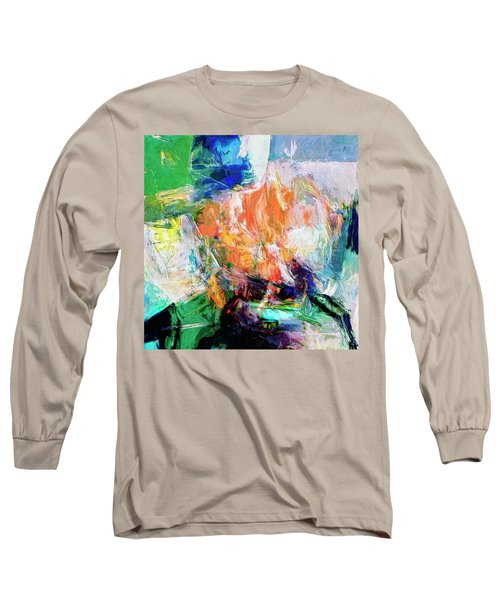 Long Sleeve T-Shirt featuring the painting Transformer by Dominic Piperata