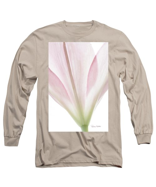 Transparent Lilly I Long Sleeve T-Shirt