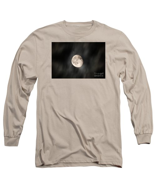 Travelling With Moon Long Sleeve T-Shirt