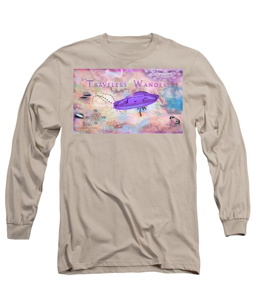 Treasure Map Long Sleeve T-Shirt