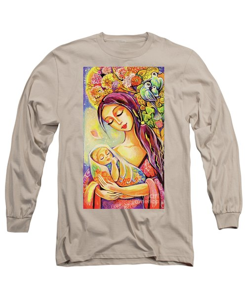 Tree Of Life Long Sleeve T-Shirt by Eva Campbell
