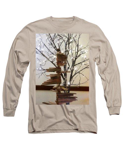 Tree Of Lights Long Sleeve T-Shirt