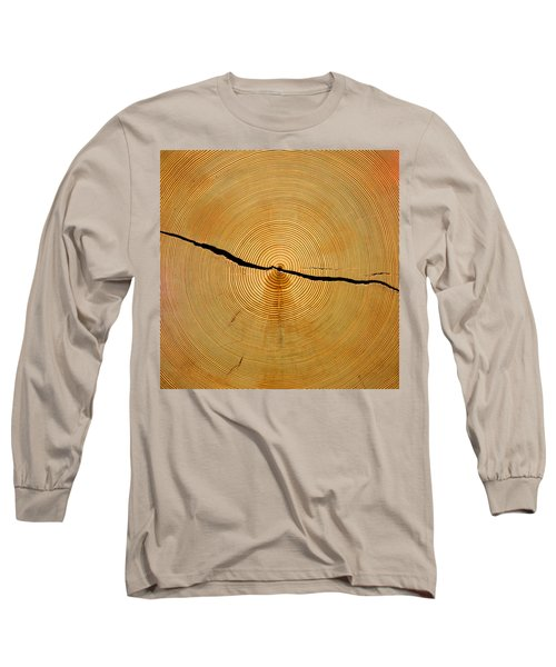 Tree Rings Long Sleeve T-Shirt