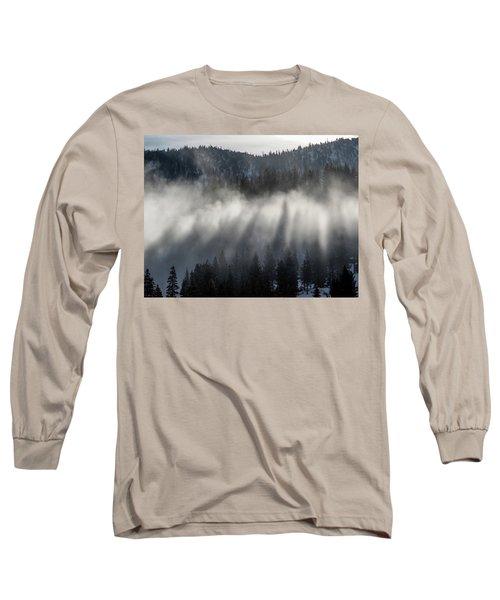 Tree Shadows Long Sleeve T-Shirt
