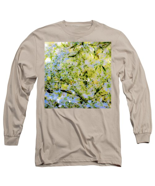 Trees And Leaves Long Sleeve T-Shirt