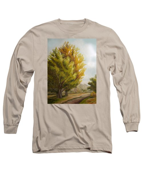 Trees In Boulder Long Sleeve T-Shirt