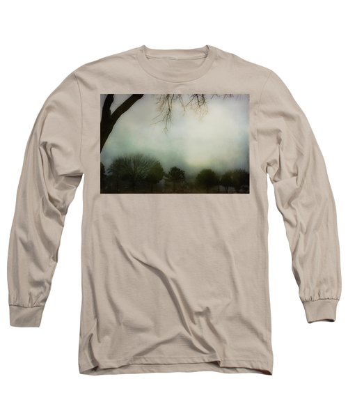 Trees In The Mist Long Sleeve T-Shirt