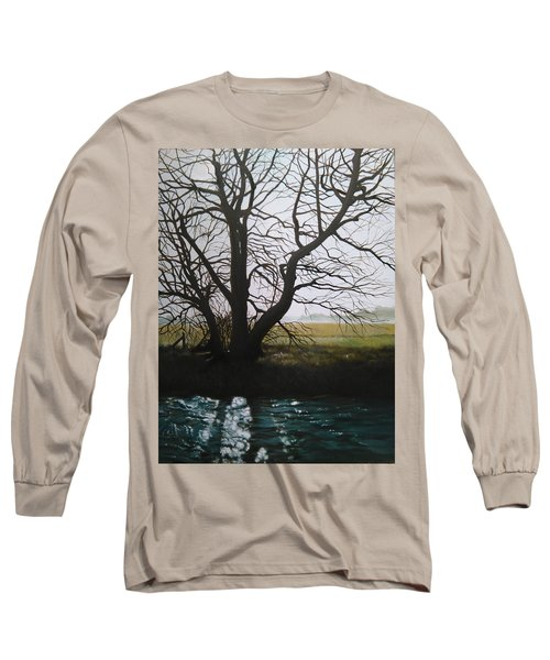 Trent Side Tree. Long Sleeve T-Shirt