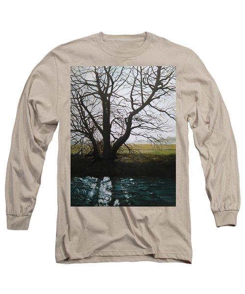 Trent Side Tree. Long Sleeve T-Shirt