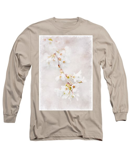 Triadelphia Cherry Blossoms Long Sleeve T-Shirt
