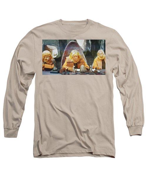 Tribunal Trump Long Sleeve T-Shirt by Christopher McKenzie