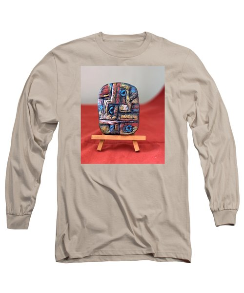 Trilogy Long Sleeve T-Shirt by Edgar Torres