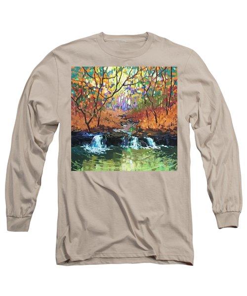Triple Rhythm Long Sleeve T-Shirt