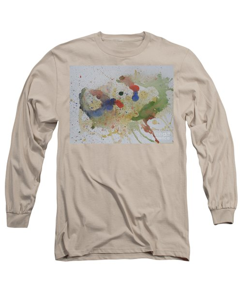 Long Sleeve T-Shirt featuring the painting Triple Rooster Race by Vicki  Housel