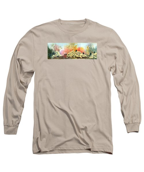 Triptych Long Sleeve T-Shirt