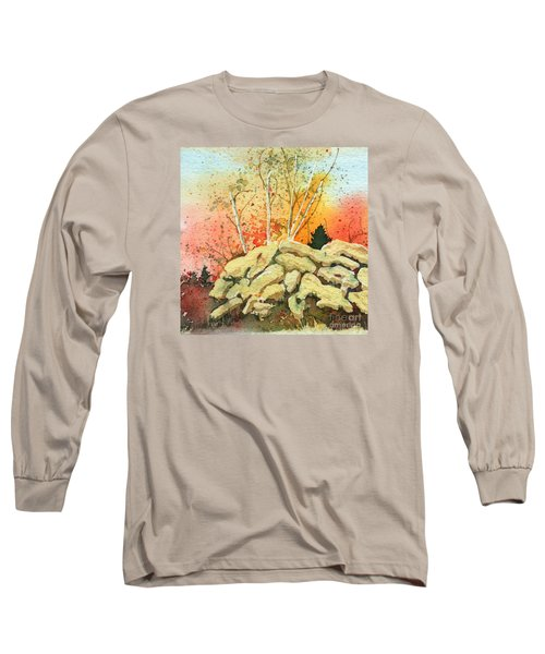 Triptych Panel 2 Long Sleeve T-Shirt
