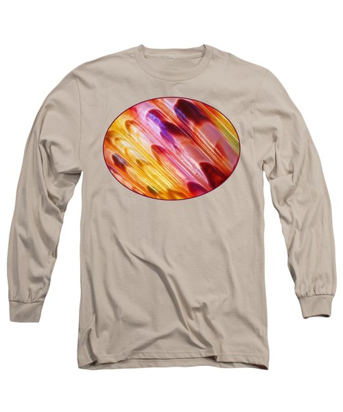 Triton Seashell Multicolor Abstract Long Sleeve T-Shirt