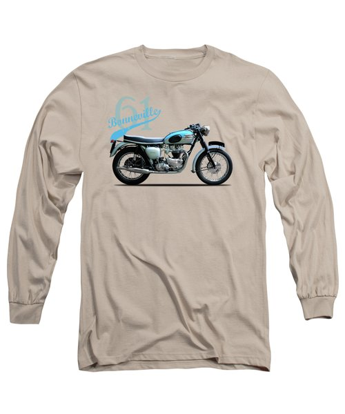 Triumph Bonneville 1961 Long Sleeve T-Shirt